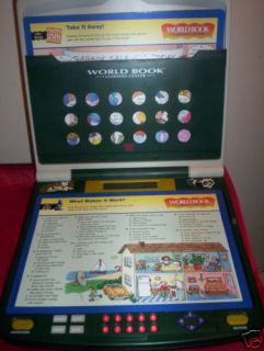 1996 Tiger Electronics Learning Center Laptop 2 Player