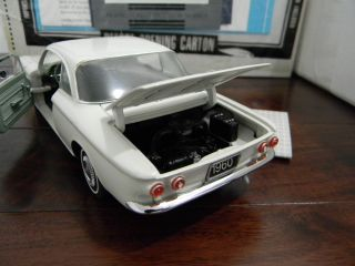 Mint Chevy 1960 Chevrolet Corvair Monza Club Coupe MIB model car 124