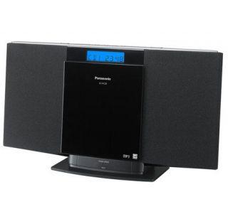 Panasonic SC HC20 10W Compact Stereo System w/iPod Dock —