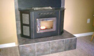 door Corn Flame Amaziblaze CORNGLO Multi fuel pellet stove chrome