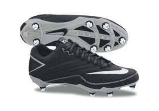 Air SUPER SPEED D Low FOOTBALL soccer Cleats Shoes white black silver
