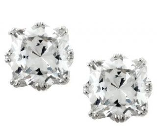 Tacori IV Diamonique Epiphany 2.35 cttw Bloom Cushion Studs —