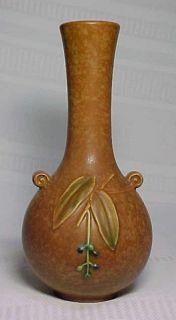 Weller Pottery Cornish Bulbous Bud Vase Arts Crafts