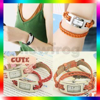 Brand New Many Colors Fashion Jewelry Watch Bracelet Candy Wristwatch