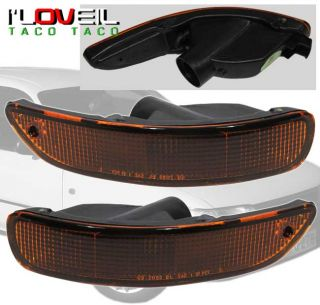 93 97 Corolla Chrome Headlights Bumper Corner Lights