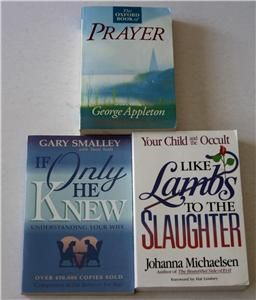 14 Lot Religious Christian Tramp for The Lord Prayer Passover TPB PB
