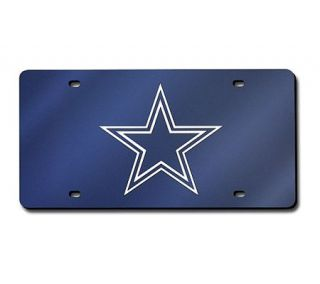 NFL Dallas Cowboys Team Laser Tag License Plate —