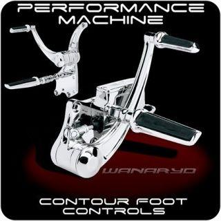 Machine Chrome Contour Forward Controls Harley Softail Nightrain