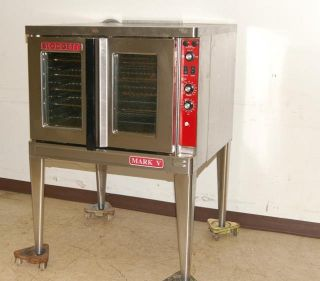 blodgett markv electric convection oven on legs used blodget electric
