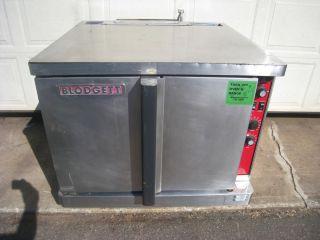 Blodgett full size electric convection oven model Mark V 111