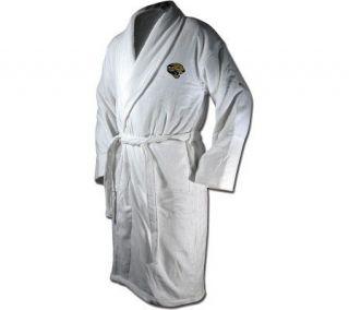 NFL Jacksonville Jaguars Team Logo EmbroideredBath Robe —