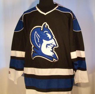 Tags DUKE UNIVERSITY BLUE DEVILS Ice Hockey Jersey by Colosseum XL NEW