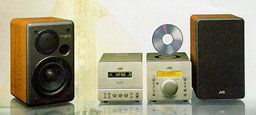 JVC FS D88 FS Series Compact Stereo System —