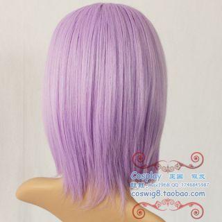 COS Wigs New Short Cosplay Light Purple Wig Color 3815