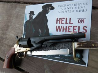 Replica Gun 1860 Civil War Army Colt Revolver Black Brass