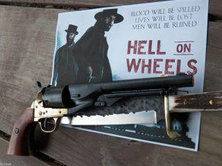 Replica Gun 1860 Civil War Army Colt Revolver Black Brass