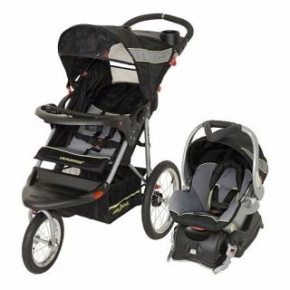 Baby Trend Expedition LX Jogging Stroller Travel System ~Ion