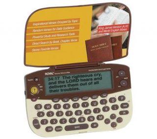 Royal Electronic Holy Bible   King James & World English —