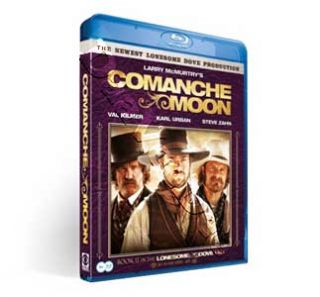 COMANCHE Moon New Series Blu Ray 2 DVD Set Val Kilmer Karl Urban Steve