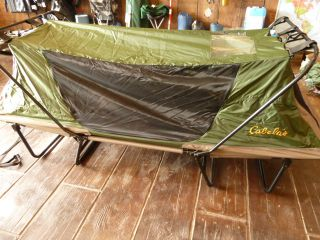 Kamp Rite Compact Tent Cot Double 2 Person Time Left
