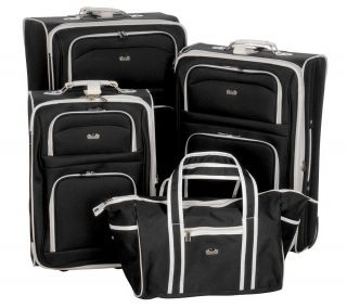 Ciao 4 Piece Fashion Light Weight Expandable Luggage Set —