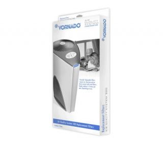 Vornado AQS500 Air Purifier Replacement Filters  2 Pairs —