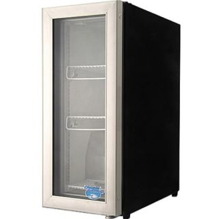 Commercial Tabletop Beverage Display Cooler Mini Fridge, Glass Door