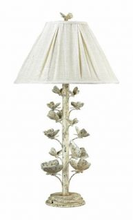 description french country style butterfly table lamp shabby country