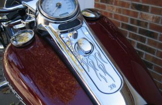 Road King Customs 2004   2007 Beautifully Chromed One Peice Cover
