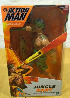 ACTION MAN JUNGLE DART Hasbro Toy Doll Action Figure NEW 1999