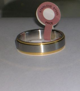 Genuine Chromium coated Stainless Steel Mens Ring Available Sizes 10