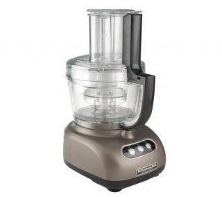 KitchenAid 12 Cup 3 in 1 Food Processor w/ 3 Bowls & Accessories