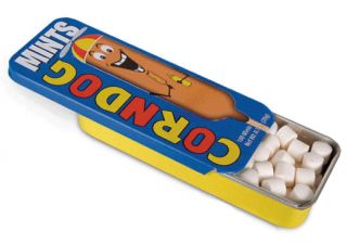 Corn Dog Flavored Mints Gag Gifts Party Favors Novelty