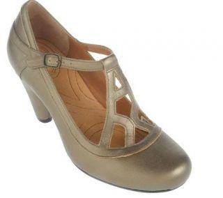 Indigo by Clarks Plush Leather Round Toe Dress Shoes —