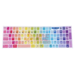 Rainbow Keyboard Sticker for Desktop Laptop Notebook PC Computer