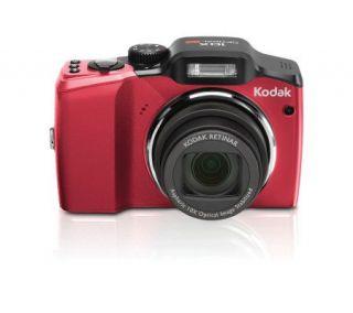 Kodak Easyshare Z915 Digital Camera   Red —