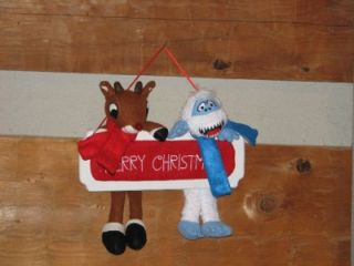 Rudolph Bumble Island of Misfit Toys Hanging Plaque