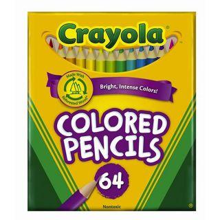 Crayola 64 Colored Pencils