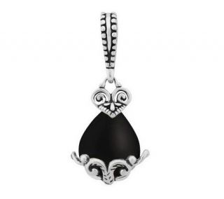 Carolyn Pollack Sterling Sincerely Fabulous Gemstone Charm   J311068