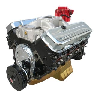 New Blueprint 496 BBC Big Block Chevy Crate Engine 480 HP 50 000 Mile