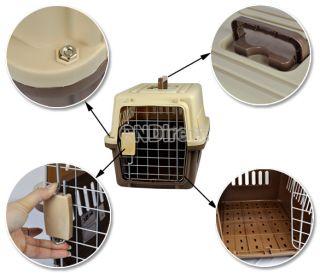 Guardian Carry Me Pet Crates Plastic Hard Sided Pet Carrier Dog Cat
