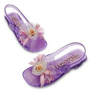 Store Princess Rapunzel Tangled Costume Shoes Girls Size 2 3