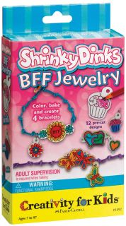 Dinks BFF Jewelry (Makes 4) Creativity For Kids Activity Kits CK 1492