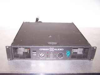 Crest Audio CA9 Power Amplifier Good Working Condition Used