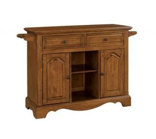 Home Styles Country Casual Large Kitchen Cart —