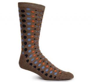 Goodhew Womens Dot Dot Dot Merino Wool BambooCrew Socks —