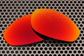 New VL Polarized Fire Red Lenses For Oakley Straight Jacket 1st
