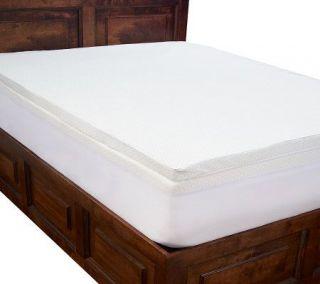 PedicSolutions 4 Double Layer Memory Foam FL Mattress Topper