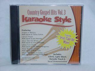 Country Gospel Hits V3 Christian Karaoke New CD G