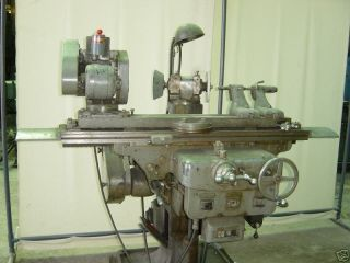 Covel Tool and Cutter Grinder w Two Heads Extra Attach